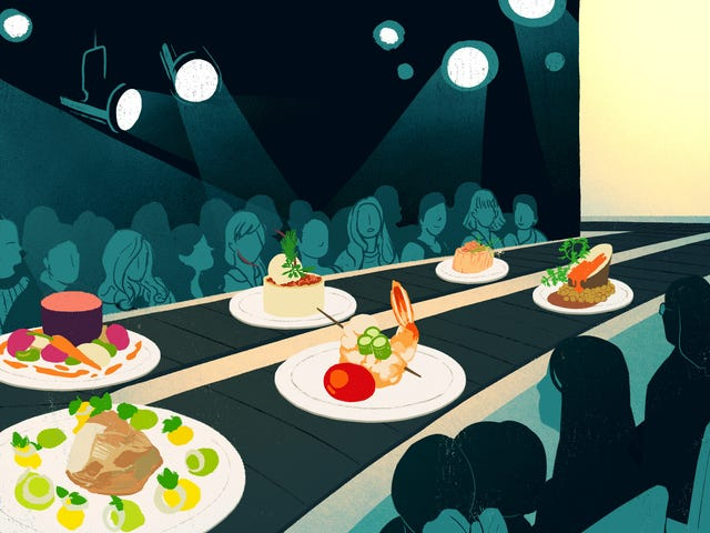 Κάτω με λατρεία σεφ