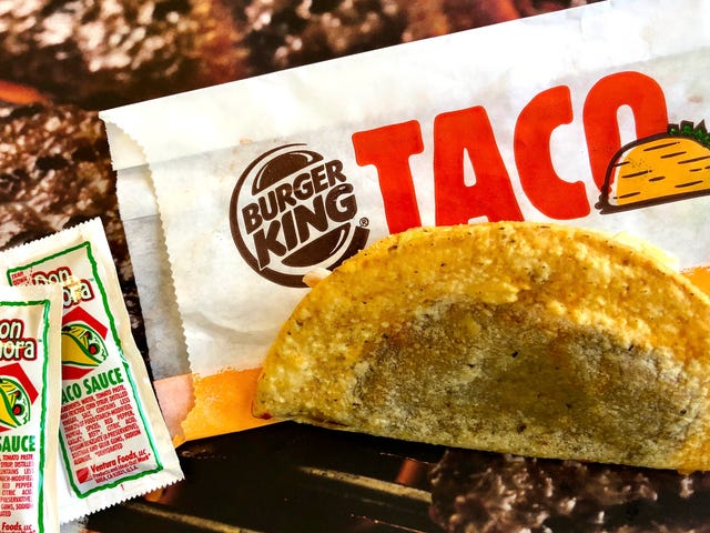 Burger King wins the taco race to the bottom