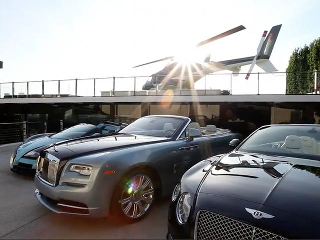 Check Out The Cars That Come With The Most Expensive House In America