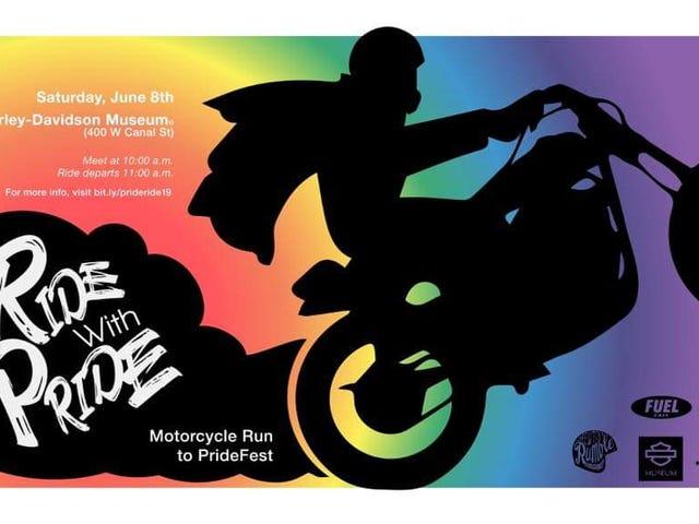 Pride Parades, Motorcycle Style!