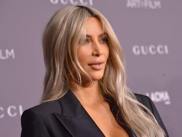 Kim Kardashian Wears Socks, You May Now Leave the House
