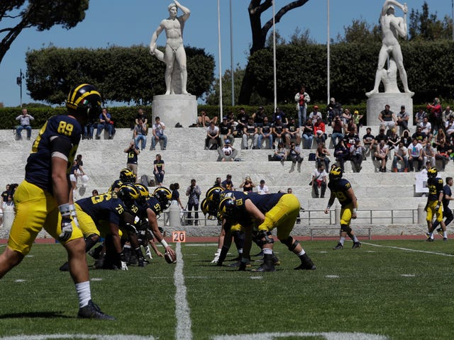 Michigan's Trip To Italy Cost Close To $800,000