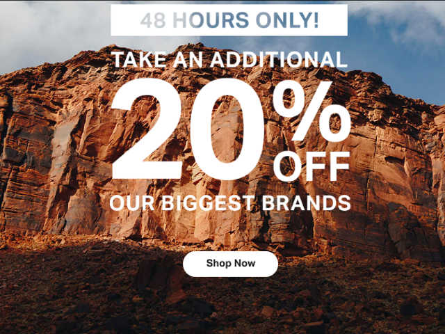 Backcountry Is Taking an Extra 20% Off All The Brands You Love