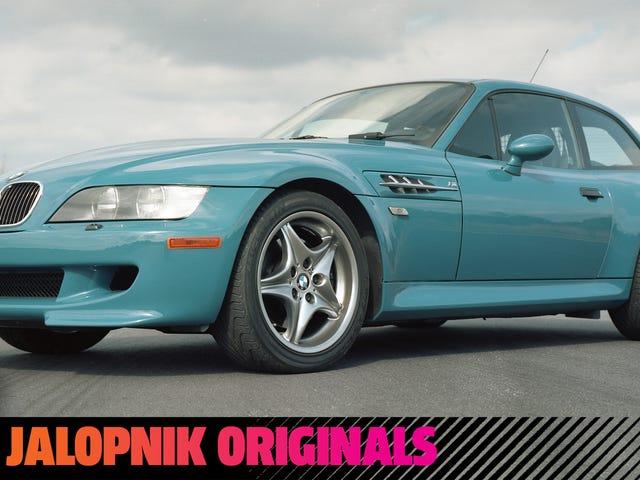 """Come la leggendaria """"scarpa da clown"""" BMW M Coupe è stata progettata in segreto"""