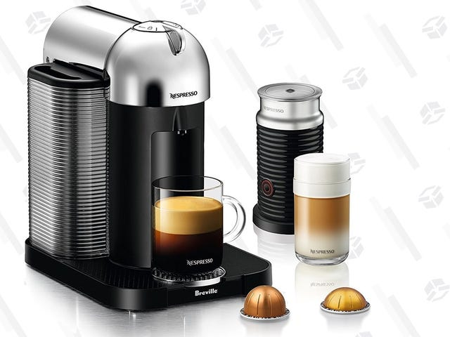 Treat Yourself to This $100 Nespresso Vertuo Coffee Bundle