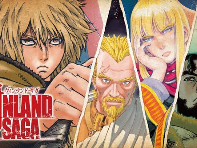Vinland Saga gets an anime adaptation