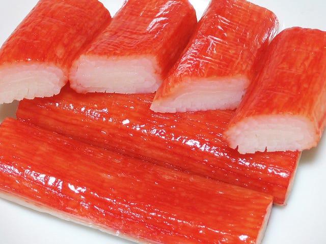 Qué es en realidad la carne que se hace pasar por cangrejo en los palitos que compras en el supermercado