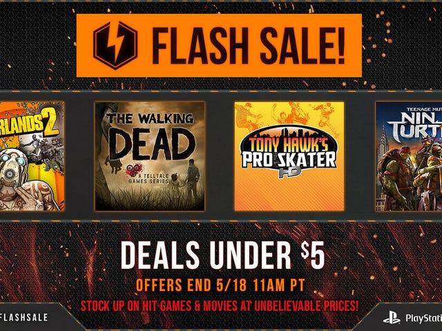 TAY Deal Blip - Vente Flash PSN à moins de 5 $