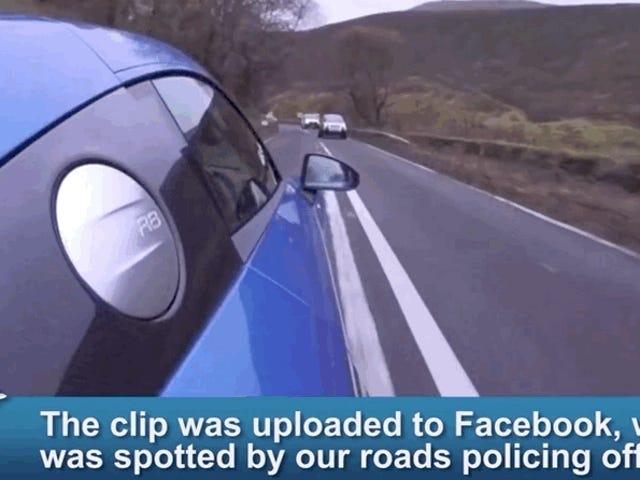 En påmindelse om, at politiet har et andet ord til din utrolige hastighedsvideo: 'Bevis'