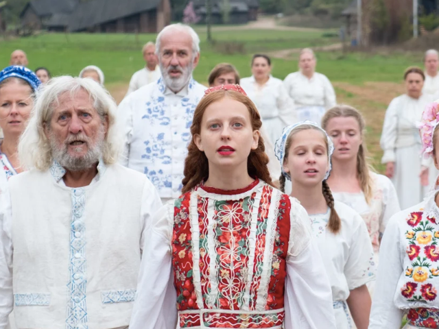 Midsommar is filled with creepy subliminal faces, apparently