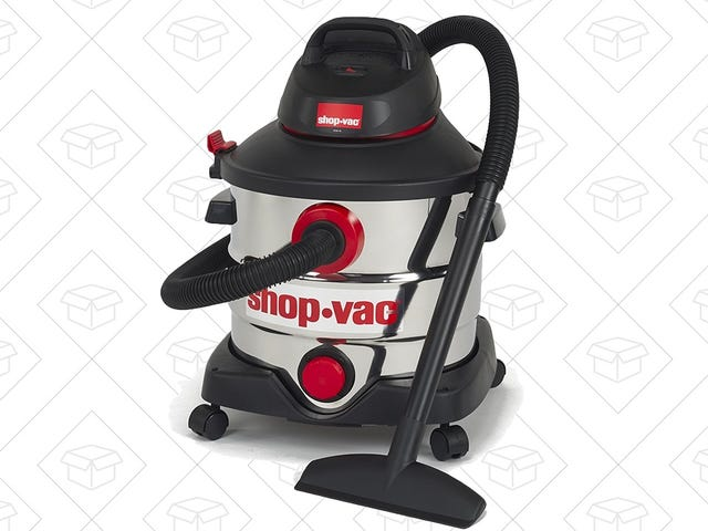Be Prepared For Major Spills With This $69 Shop-Vac Deal