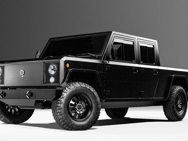 Du kan redan börja placera insättningar på din 125.000 $ elektriska Bollinger-pickup