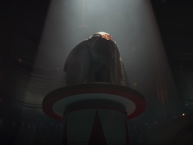 Tim Burton's live-action Dumbo takes flight in its first teaser