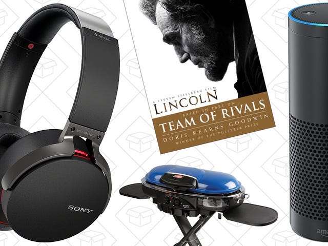 Sunday's Best Deals: Sony Headphones, Amazon Devices, Tailgating Gear, and More