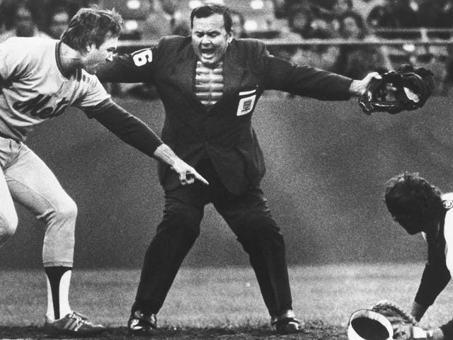 Umpire Dutch Rennert Has Died, But His Strikeout Call Is Probably Still Echoing