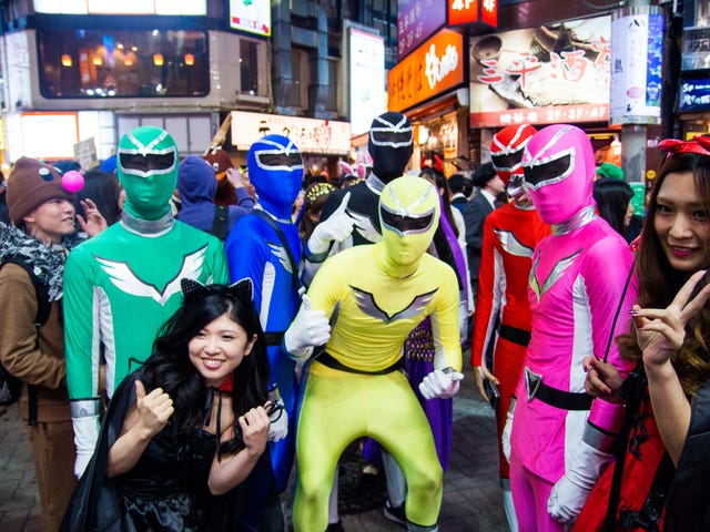 """Cosplay"" Isn't The Best Word For Halloween In Japan"