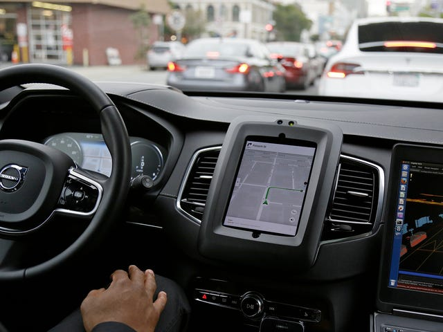 Uber CEO Compares Self-Driving Cars To 'Student Drivers'