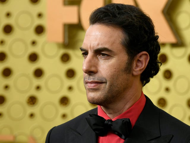 Sacha Baron Cohen says what we all know: Facebook is profiting from Nazism