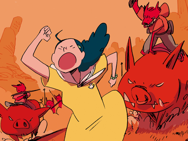 Read the First Issue of Umami, the Delightful Fantasy Comic From the Artist Behind I Kill Giants