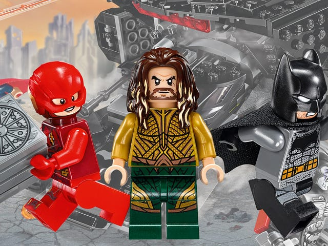 The Justice League Movie Lego Sets Are Super-Friendly