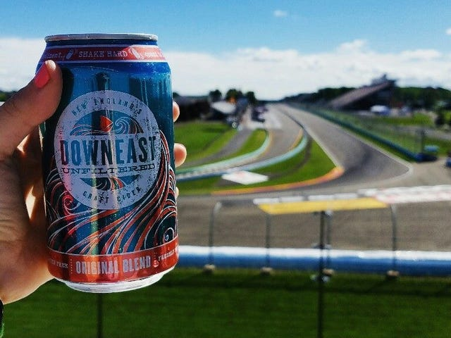 How to Drink at the Track and Not Die