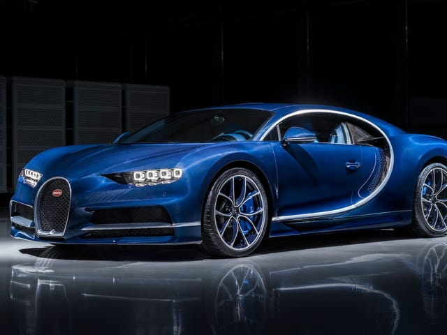 Why The Bugatti Chiron Probably Won't Hit 300 MPH