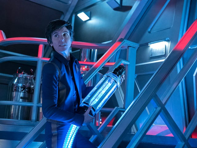 Space blobs and a death sentence on an emotional Star Trek: Discovery