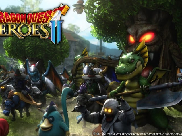 Dragon Quest Heroes II is coming to North America for PS4 on April 25, 2017, Square Enix said today