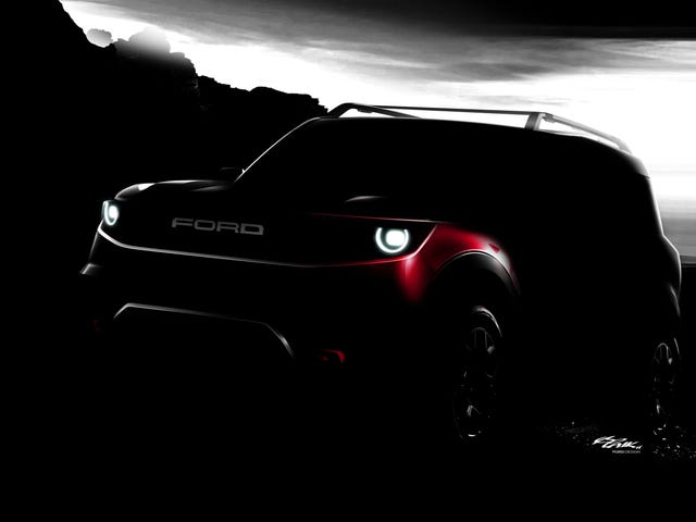 This Baby Ford Bronco Is How Ford Will Battle Jeep