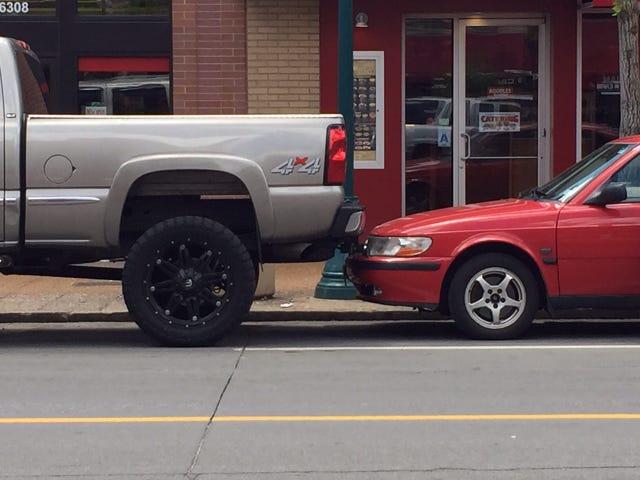 Fremragende parkering job