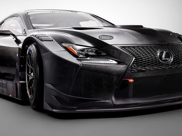 The Lexus RC F GT3 Proves The Best Application For Lexus' Grille Is 'Menacing Race Car'