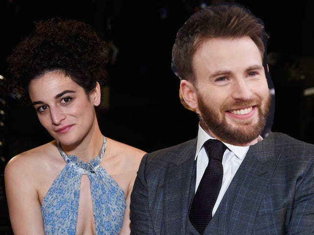 JENNY SLATE AND CAPTAIN AMERICA ARE BACK TOGETHER !!@!@!!!!