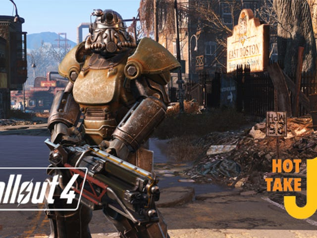 Hot Take: Fallout 4 (PS4)