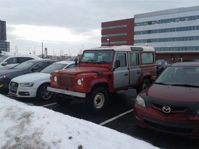DOTS office parking edition