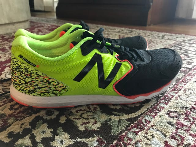 Neon ninja shoes are not just for toddlers!
