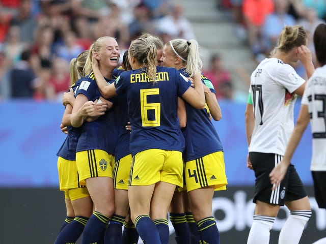 Sweden Snaps 24-Year Losing Streak Against Germany Sa 2-1 Victory