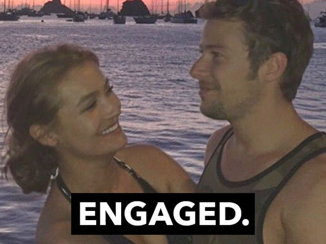 They're Engaged!