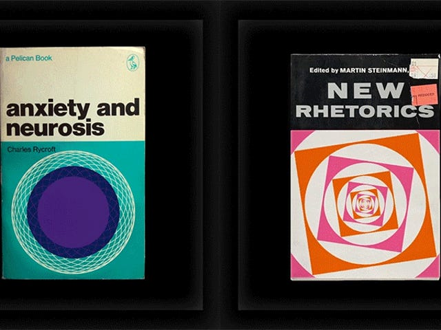 I'm Happy to Judge These Animated Vintage Textbooks By Their Hypnotic Covers