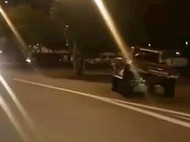 Robby Gordon förbjöds från Racing i Australien för att göra Donuts Downtown