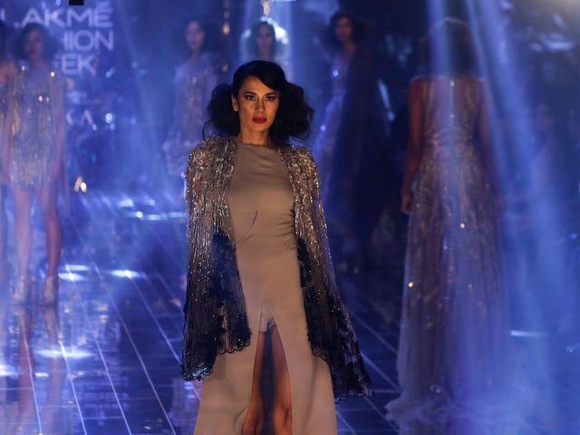 Деякі драматичні моменти на Тижні моди Lakme