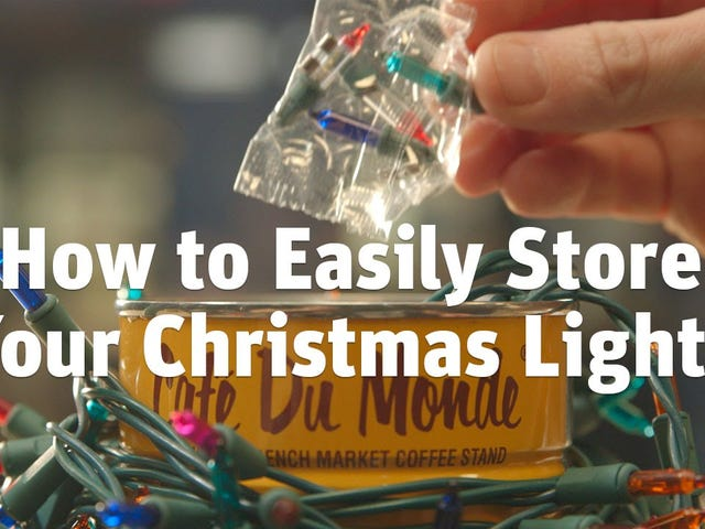 How to Store Your Christmas Lights Tangle-Free