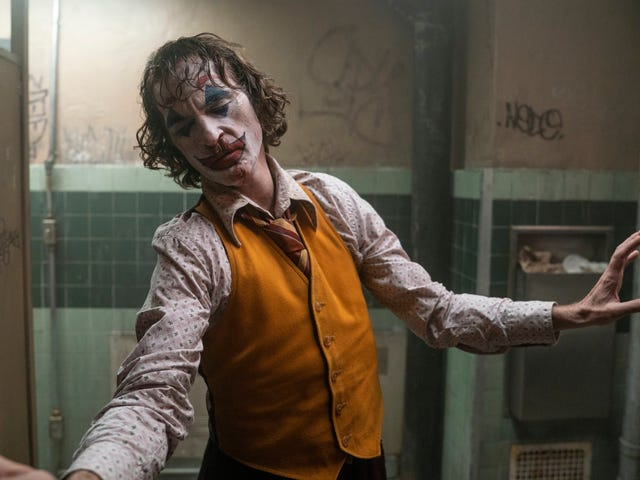 Joaquin Phoenix goes full Taxi Driver for the shallow but striking psychodrama of Joker