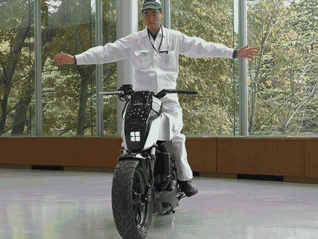 Motosikal Eksperimen Baru Honda Boleh Menjadi Baki Semua Dengan Sendiri Seperti Magic