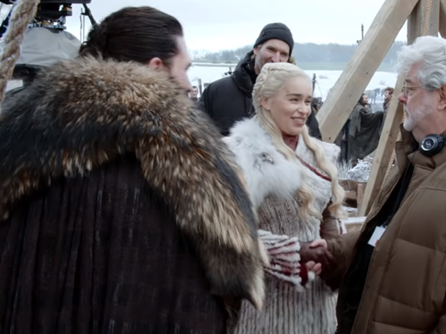 George Lucas Helped Direct a Scene of the Game of Thrones Premiere