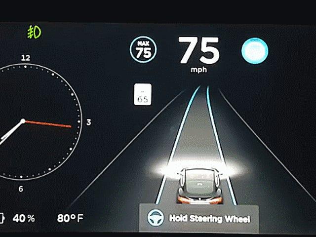 Дивіться, як Tesla оновлює автопілот, коли ви ігноруєте його попередження