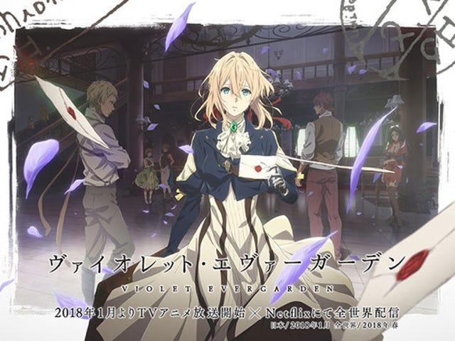 Enjoy the newest promo of Violet Evergarden Anime