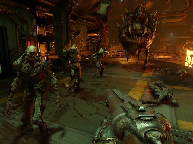 <i>Doom</i>スイッチでうまく走っているようだ
