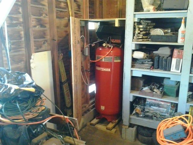 Compressor Installed