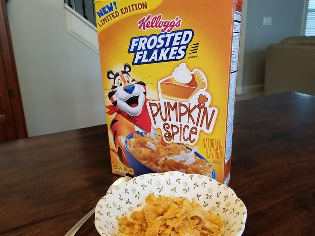I'm Conflicted About Pumpkin Spice Frosted Flakes