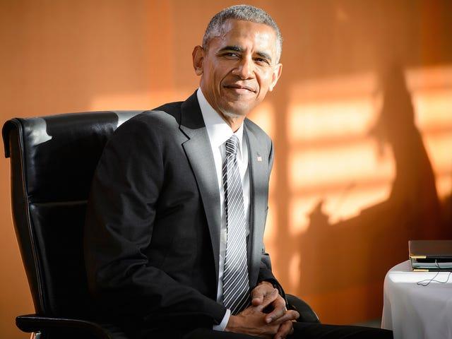 Selv med alt annet han gjør, gjør Obama tid til å lese mange bøker